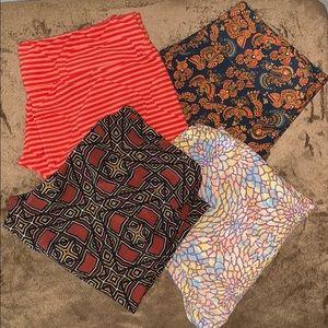 Bundle of 4 LulaRoe leggings